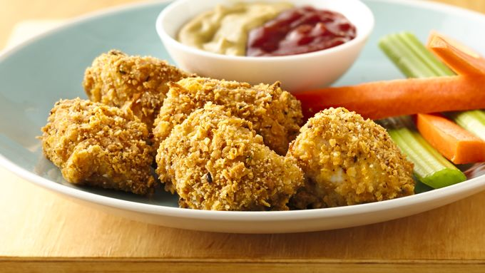 Garden Ranch Baked Chicken Nuggets
