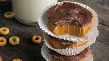 Mini Chocolate-Peanut Butter Cheerios™ Bites