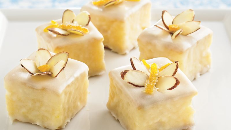 apricot petits fours recipe from betty crocker. Black Bedroom Furniture Sets. Home Design Ideas