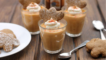 Gingerbread Pudding Shots