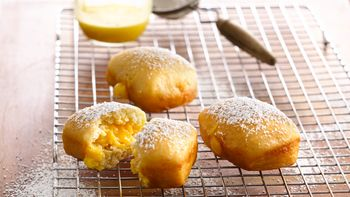 Lemon Filled Doughnuts