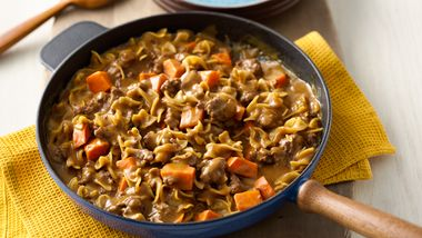 Sweet Potato Beef Pasta