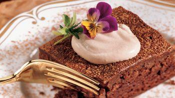 Chocolate Mousse Brownie Dessert