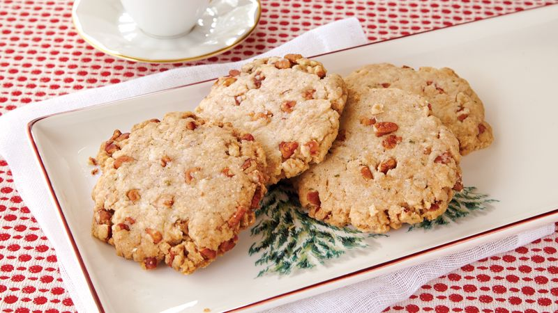 Basil Pecan Sandies