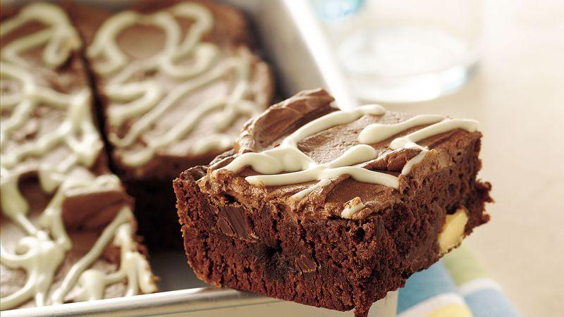 Double-Chocolate Chunk Brownies