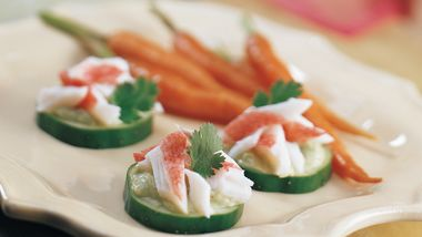 Avocado Seafood Appetizers