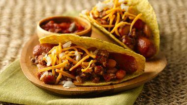 Chili Dog Tacos