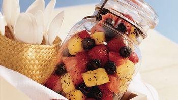 Poppy Seed Fruit Salad