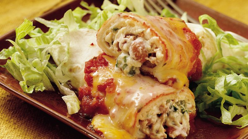 South-of-the-Border Enchiladas