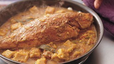 Red Snapper and Dumplings