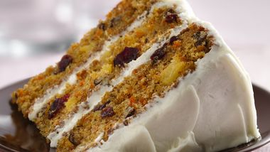 Carrot-Cranberry Cake
