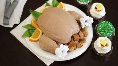Roast Turkey Dinner Cake