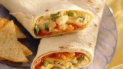Rollitos mexicanos para el desayuno