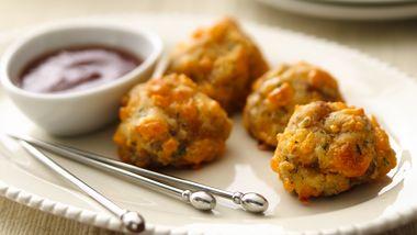 Gluten-Free Sausage Cheese Balls