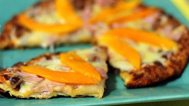 Pizza de Mango y Panceta