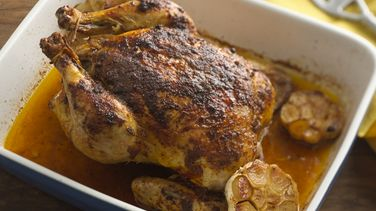 Roasted Chicken with Cumin and Achiote