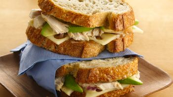 Country Chicken Sandwiches with Maple-Mustard Spread