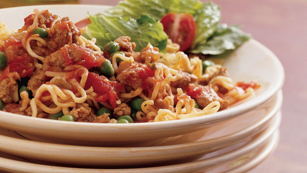 Take-It-Easy Noodle Dinner