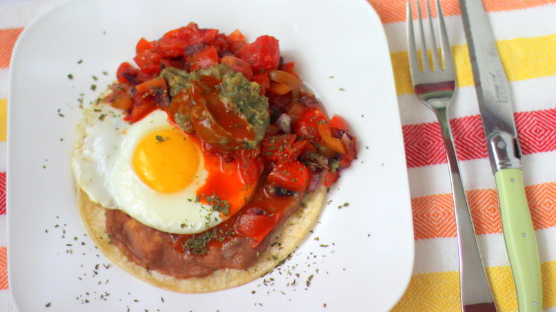 Light Huevos Rancheros