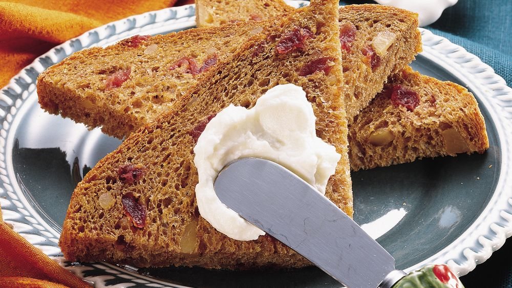 Bread Machine Cranberry-Pumpkin Bread
