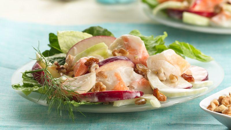 Apple-Fennel Lobster Salad
