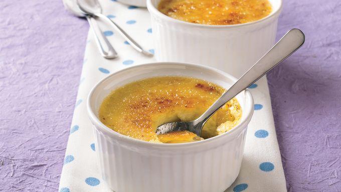 Orange Marmalade Crème Brûlée