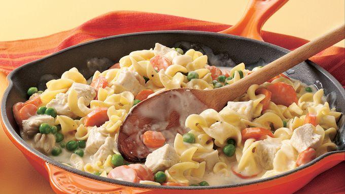 Turkey Stroganoff Skillet Supper