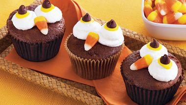 Halloween Owl Cupcakes