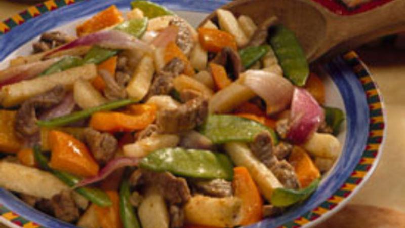 Slow-Cooker Ginger-Orange Beef Pita Sandwiches
