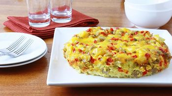 Overnight Slow-Cooker Egg Bake