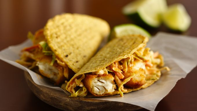 Easy fish tacos recipe from tablespoon for Simple fish taco recipe