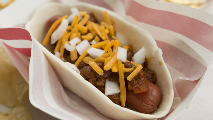 Coney Island Hot Dog Taco Boats™