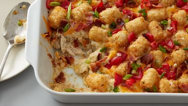 Chicken Bacon Ranch Tater Tots™ Casserole