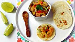 Garlic Shrimp Tacos