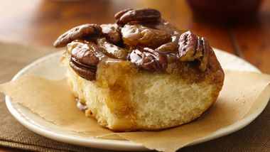 Caramel-Pecan Sticky Rolls (lighter recipe)