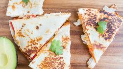 Turkey and Cheese Quesadilla