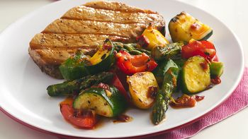 Spicy Chipotle Grilled Vegetables