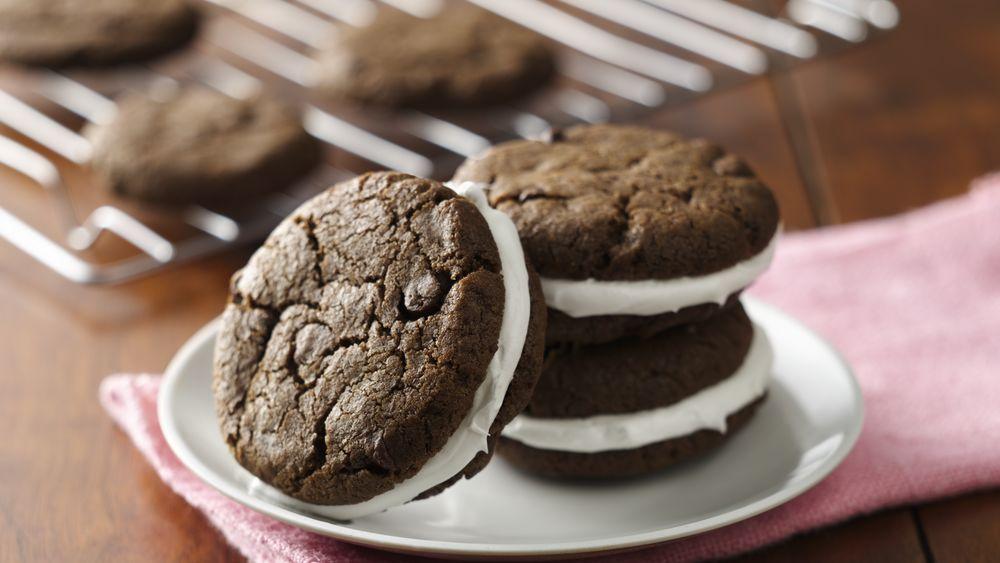 Gluten-Free Double Chocolate Sandwich Cookies