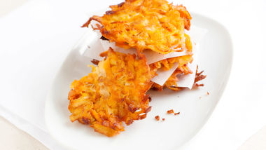Sweet Potato-Apple Latkes