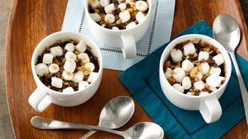 S'mores Mug Brownie