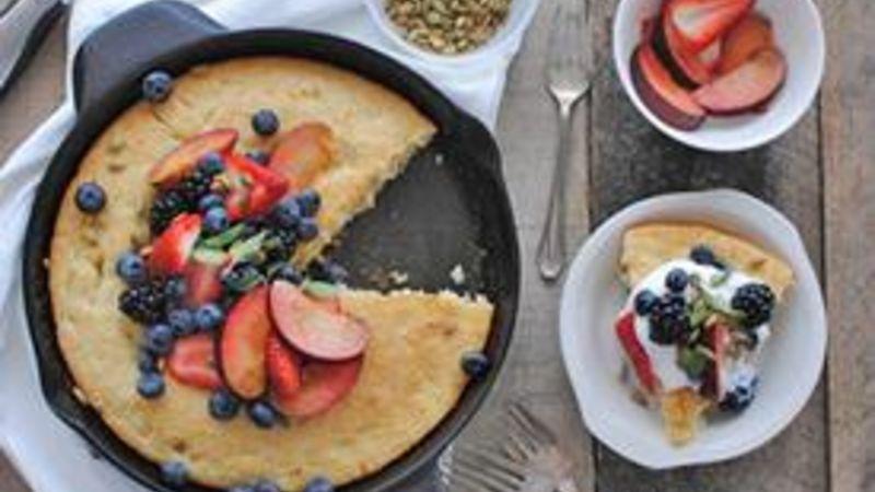 Breakfast Fruit Cobbler