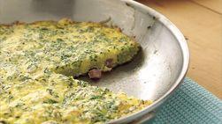 Herbed Ham Frittata