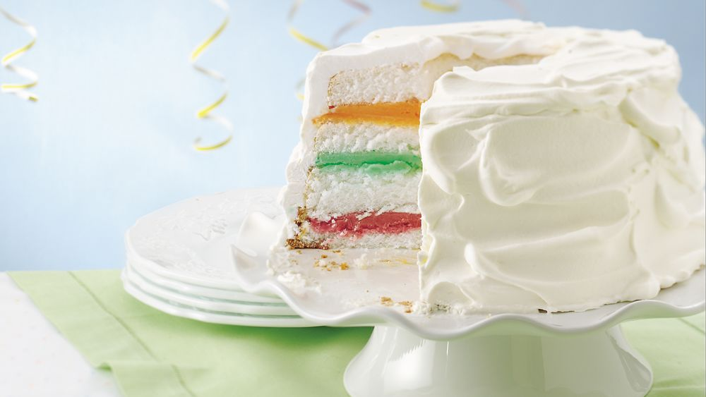 Fruit and Cream Cake