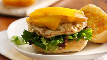 Turkey and Pear Sandwiches with Spicy Orange Marmalade