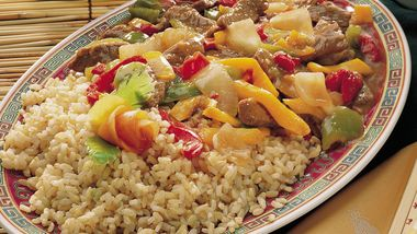 Canton Beef with Bell Peppers