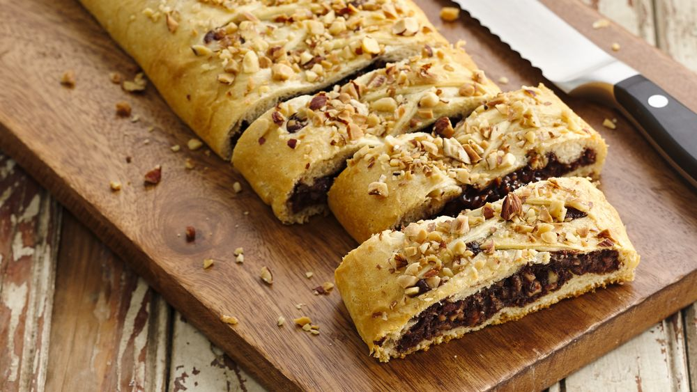 Salted Chocolate Nut Braid