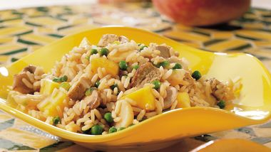 Gluten-Free Mango Pork Fried Rice
