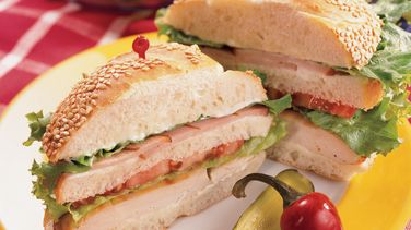 Grilled Chicken Club Sandwiches
