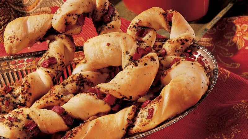Pesto Cane Breadsticks
