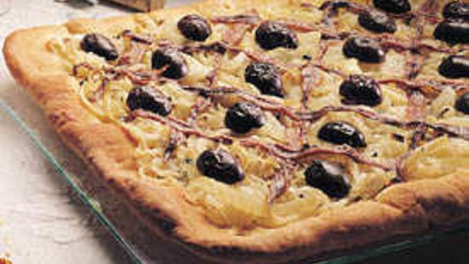 Mediterranean Onion Tart